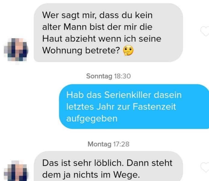 Dating Tinder-Account im Internet Sissi